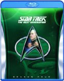 Star Trek: The Next Generation - Season 4 [Blu-ray] [Region Free]