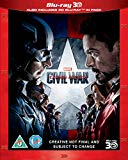 Captain America: Civil War [Blu-ray 3D] [2016]