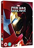 Captain America: Civil War (Iron Man Limited Edition Sleeve) [Blu-ray]